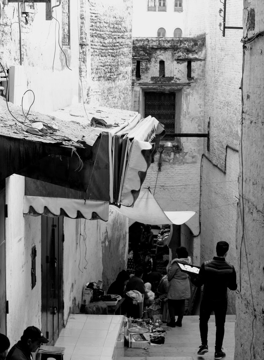 Just walk around to get the feel on the streets of medina in Fes